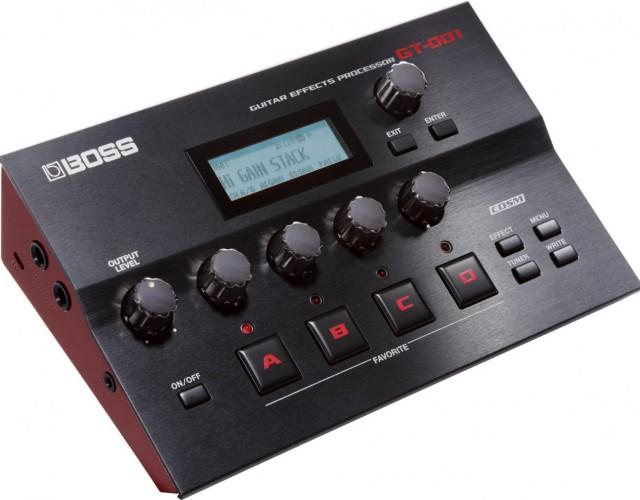 BOSS GT-001 电吉他综合效果器