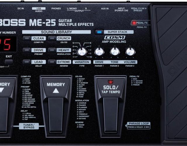 BOSS ME-25 电吉他综合效果器