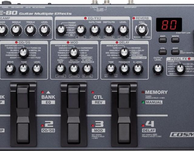 BOSS ME-80 电吉他综合效果器