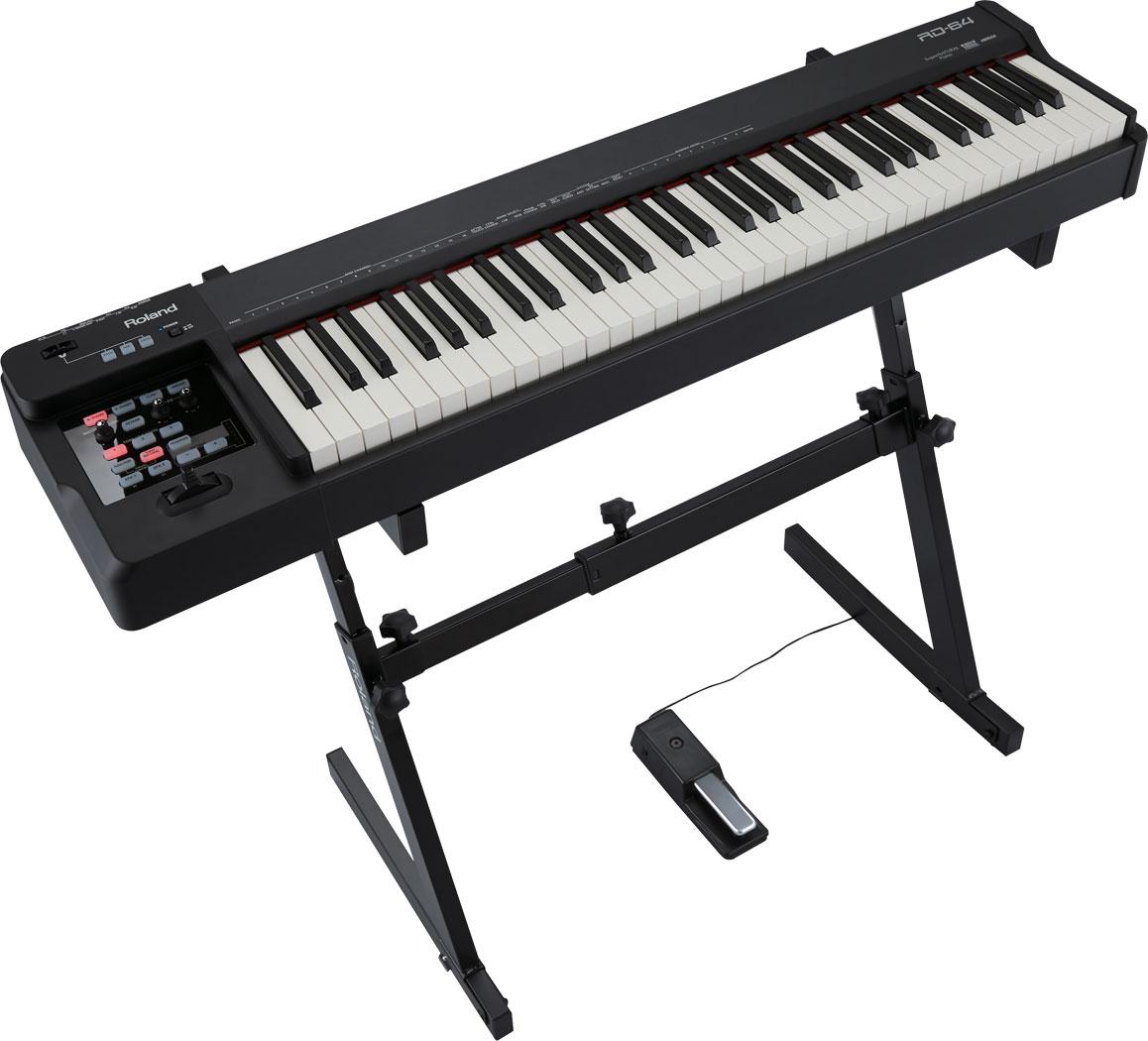 罗兰 Roland RD-64 电钢琴  舞台电钢琴